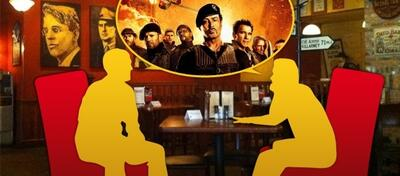 Perfektes Kneipenthema: The Expendables 2.