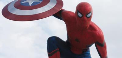 Spider-Man in The First Avenger: Civil War
