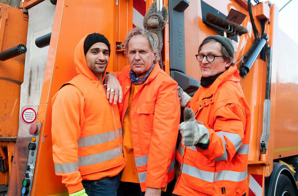 Die Drei von der Müllabfuhr - Baby an Bord