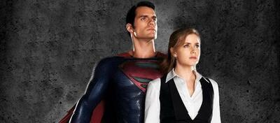 Superman & Lois Lane zieren das Total Film-Magazin.