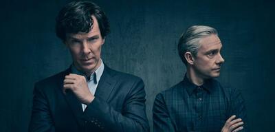 Was erwartet Benedict Cumerbatch und Martin Freeman in der 4. Staffel von Sherlock?