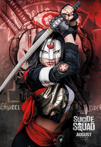 Suicide Squad mit Karen Fukuhara