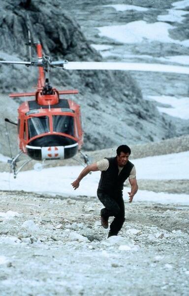 Cliffhanger - Nur die Starken überleben mit Sylvester Stallone