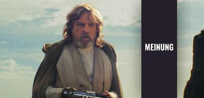 Luke in Star Wars 8: Die letzten Jedi