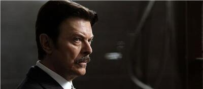David Bowie als Nikola Tesla in Prestige - Meister der Magie