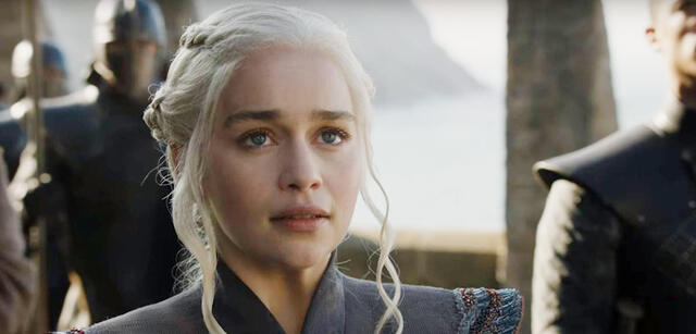 Game of Thrones - Emilia Clarke als Deanerys