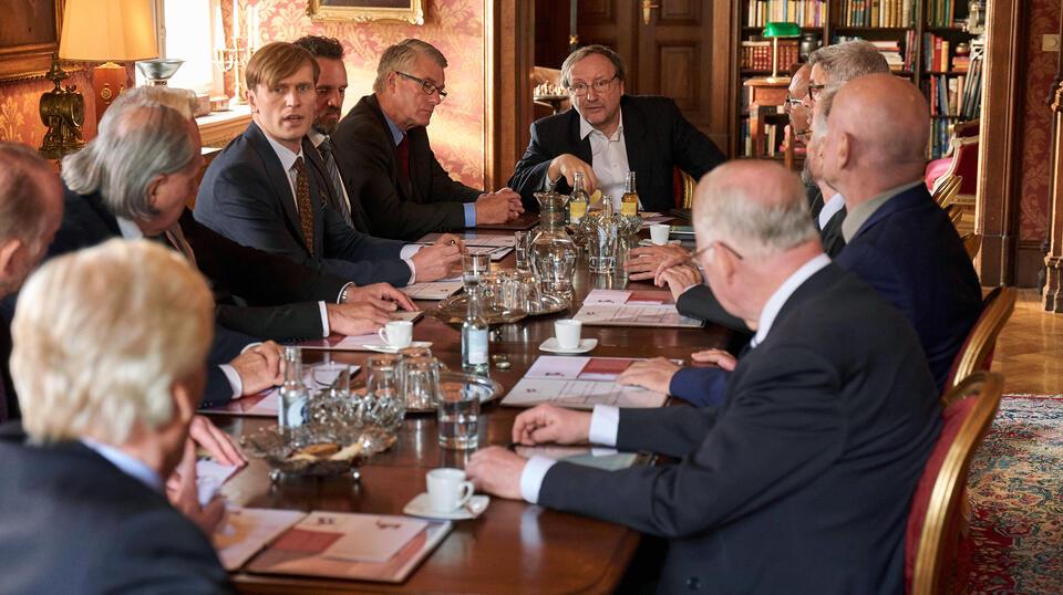Der König von Köln mit Rainer Bock und Ulrich Brandhoff
