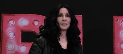 Cher im Berliner Hotel Adlon