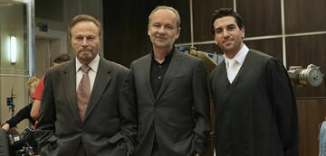 Ferdinand von Schirach mit Franco Nero und Elyas M'Barek