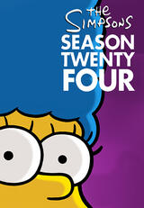 Die Simpsons - Staffel 24 - Poster