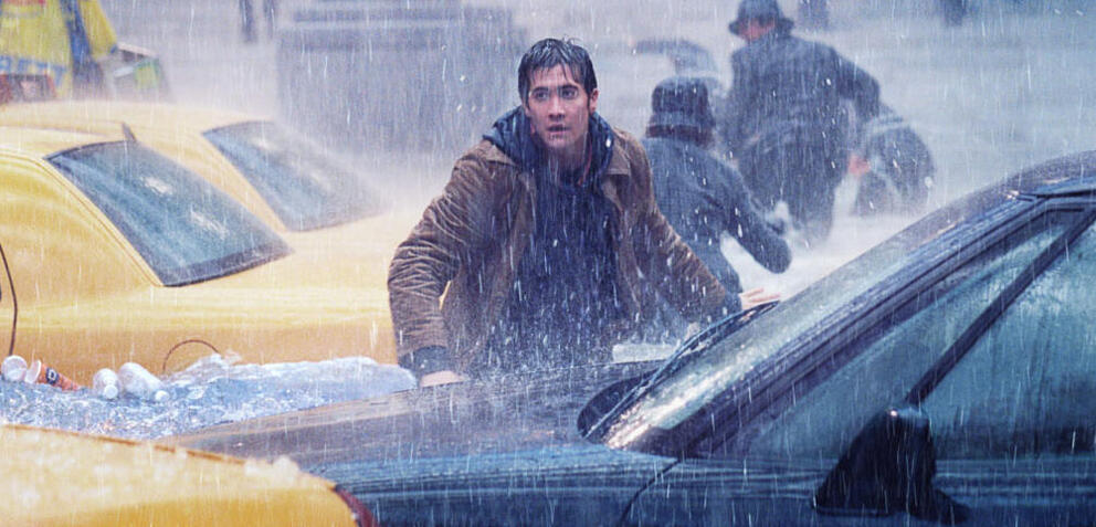 Jake Gyllenhaal in The Day After Tomorrow