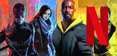 Daredevil, Jessica Jones, Luke Cage, Iron First in The Defenders