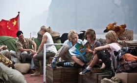 Das TIGER-TEAM (Justus Kammerer, Bruno Schubert, Helena Siegmund-Schultze) auf großer Fahrt zum Berg der 1000 Drachen. - Bild 3