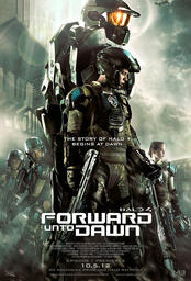 Halo 4: Forward Unto Dawn - Poster