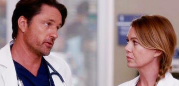 Grey's Anatomy: Martin Henderson als Nathan Riggs mit Ellen Pompeo als Meredith Grey