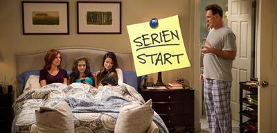 Crowded: Bei Mike und Martina liegen die Töchter im wahrsten Sinne des Wortes wieder mit im Bett