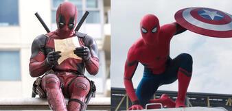Deadpool/Spiderman in The First Avenger: Civil War