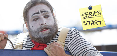 Baskets mit Zach Galifianakis als Clown
