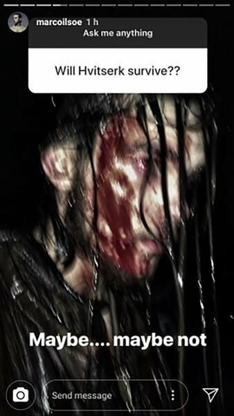 Neues Vikings-Bild beweist: Hvitserk droht in Staffel 6 ein