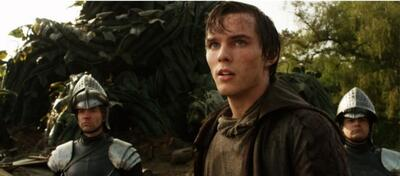 Nicholas Hoult in Jack and the giants.