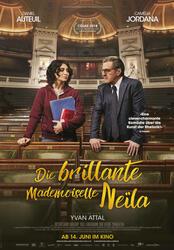 Die brillante Mademoiselle Neïla Poster