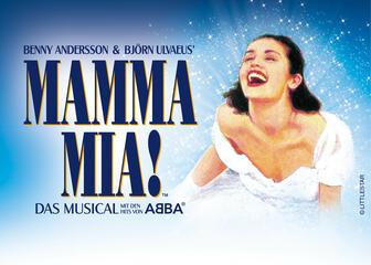 Promo zu Mamma Mia! Das Musical in Deutschland