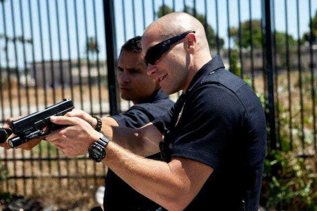End of Watch mit Jake Gyllenhaal und Michael Peña