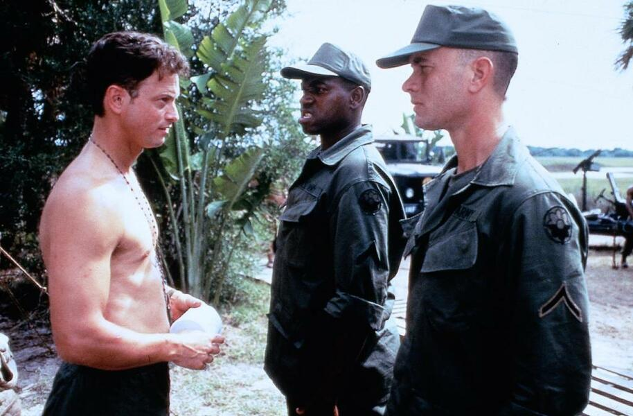 Forrest Gump mit Tom Hanks, Gary Sinise und Mykelti Williamson