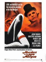 Mord in der Rue Morgue - Poster