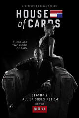 House of Cards - Staffel 2 - Poster