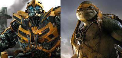 Transformers + Teenage Mutant Ninja Turtles = Cross-over?