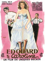 Edouard und Caroline - Poster