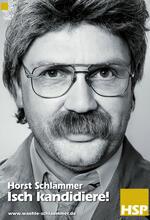 Horst Schlämmer - Isch kandidiere! Poster