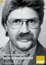 Horst Schlämmer - Isch kandidiere! - Poster