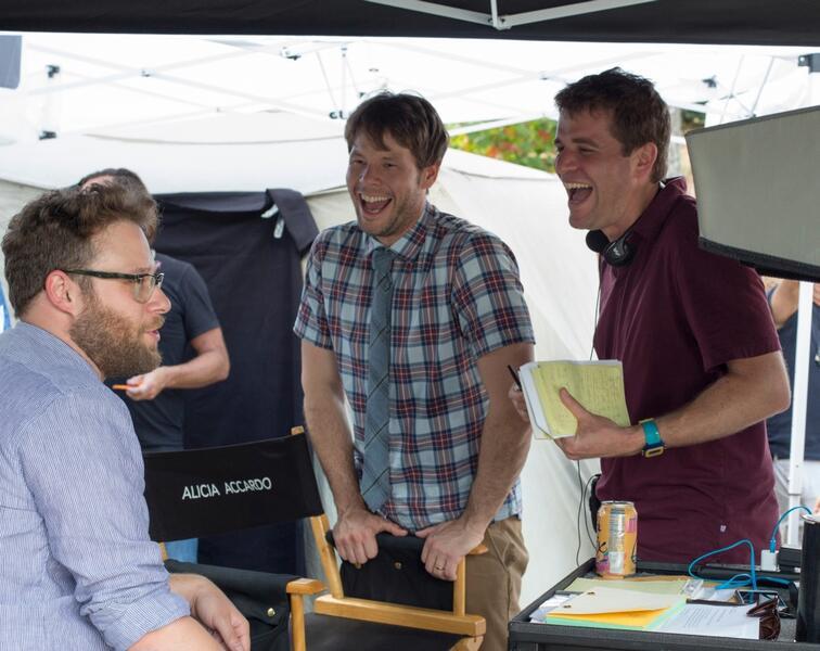 Bad Neighbors 2 mit Seth Rogen und Nicholas Stoller