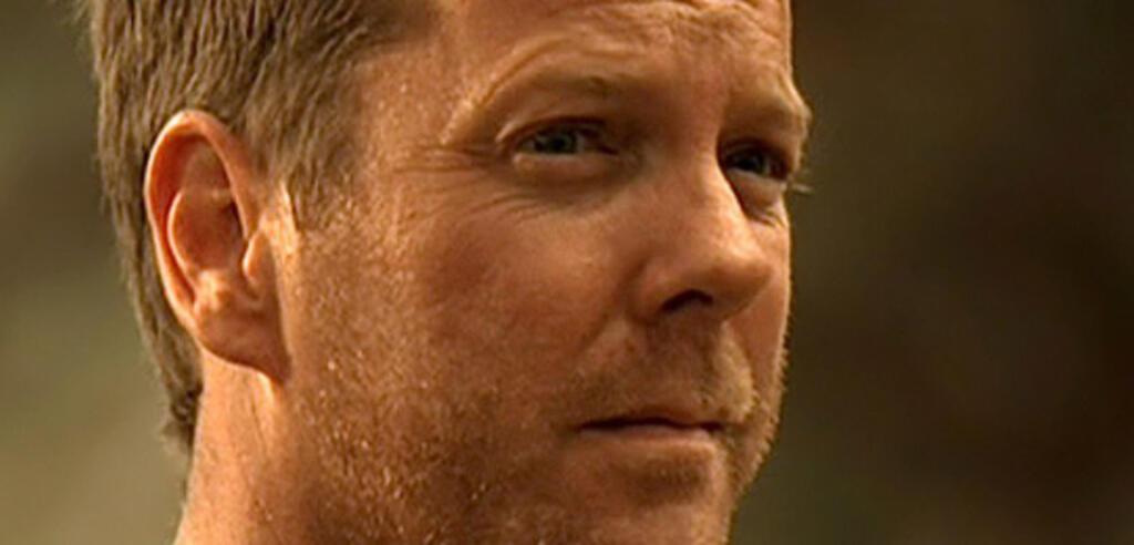 Kiefer Sutherland als Agent Jack Bauer (24)