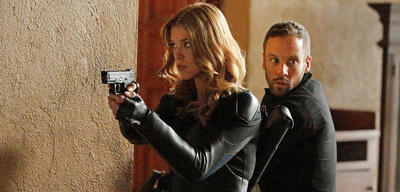 Mockingbird und Lance Hunter in Agents of S.H.I.E.L.D.