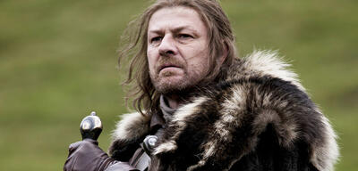 Ned Stark (Sean Bean) in Game of Thrones