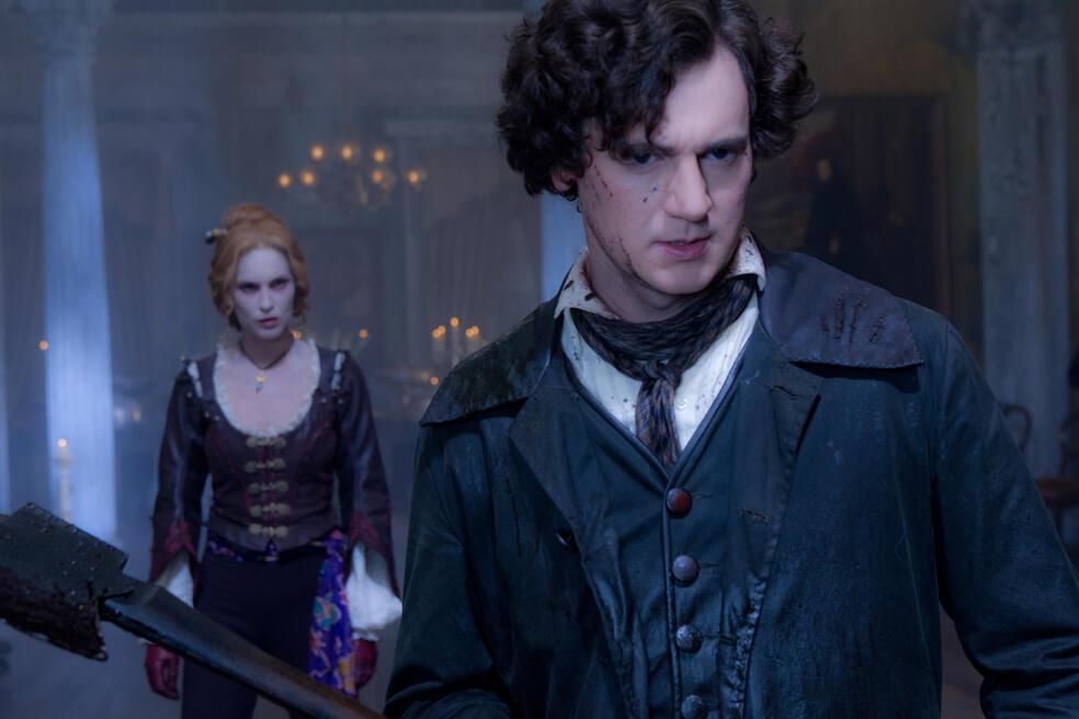 Abraham Lincoln Vampirjäger mit Benjamin Walker und Erin Wasson