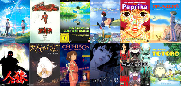 Die besten Anime-Filme