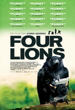 Four Lions Poster