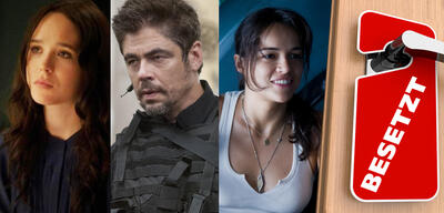 Ellen Page in The East / Benicio de Toro in Sicario / Michelle Rodriguez in Avatar