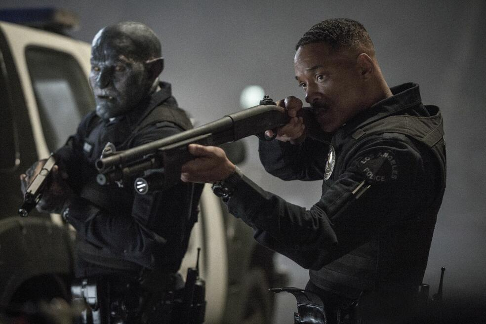 Bright mit Will Smith und Joel Edgerton