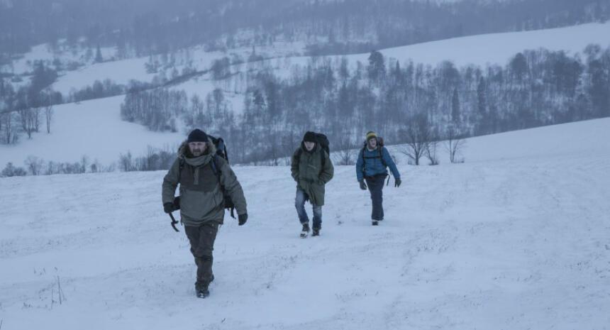 Grenzgänger Gefangen Im Eis