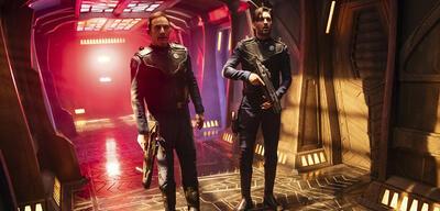 Star Trek: Discovery: Jason Isaacs und Shazad Latif