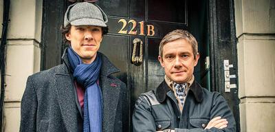 Sherlock: Benedict Cumberbatch und Martin Freeman