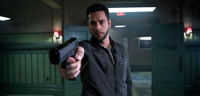 Zachary Levi in Heroes Reborn