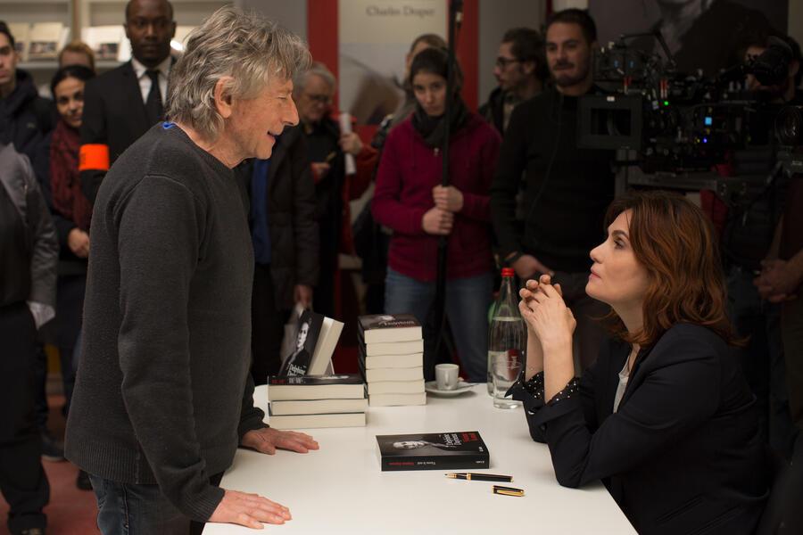 Nach einer wahren Geschichte mit Roman Polanski und Emmanuelle Seigner