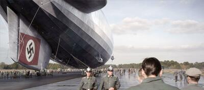 Erschreckend groß - die Hindenburg