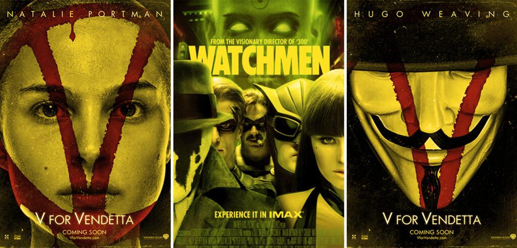 V wie Vendetta / Watchmen